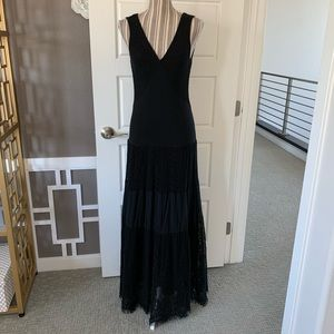 V Cristina Sleeveless V-Neck Maxi Dress